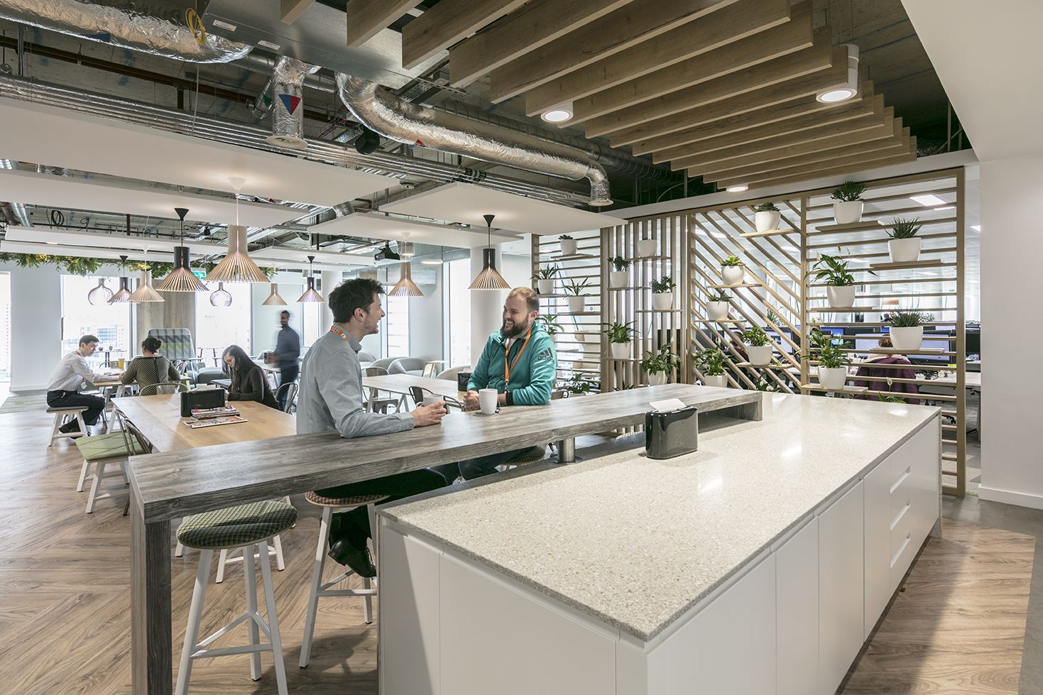 How do you create a workplace that smiles?