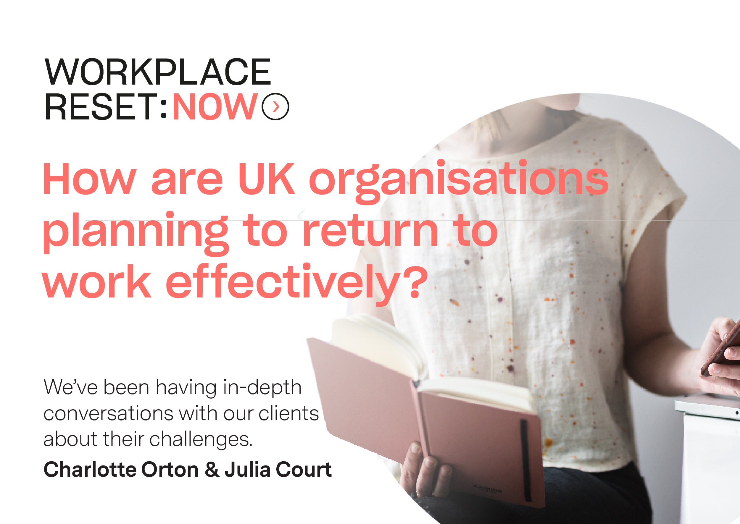 How are UK organisations planning to return to work effectively?