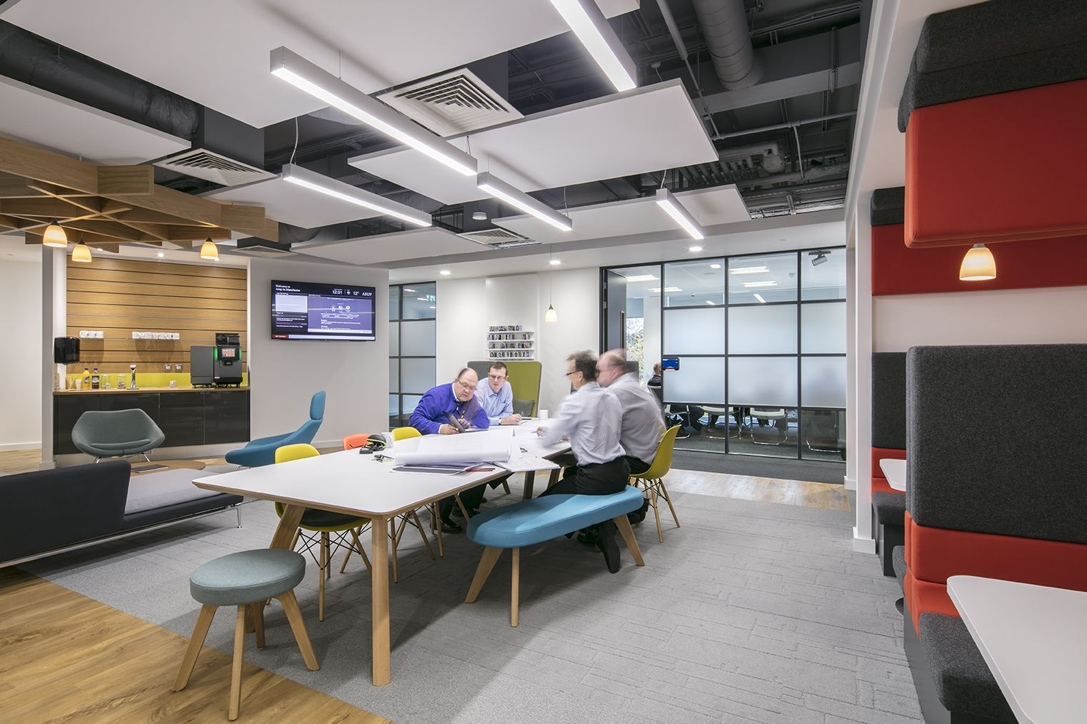 Shaping a workplace for a company that shapes the world