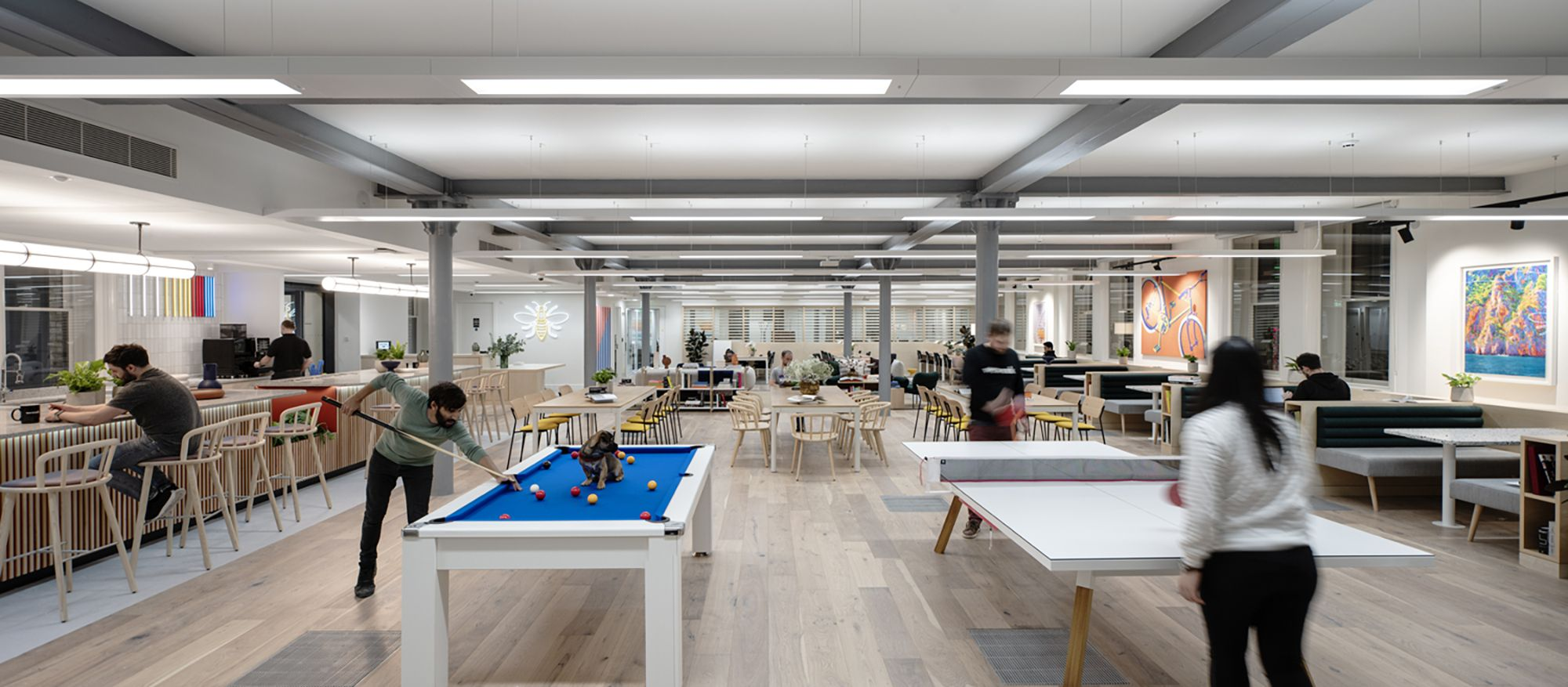 A fast-track fit-out for two global powerhouses